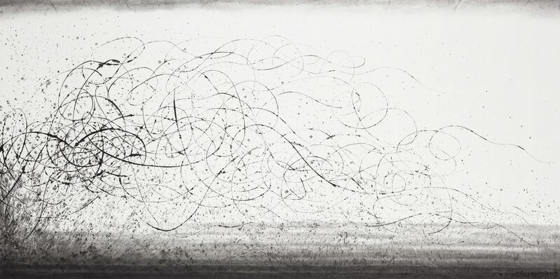 Wang Huangsheng, 'Moving Visions 140919 ', 2014, Painting, Ink on paper, October Gallery