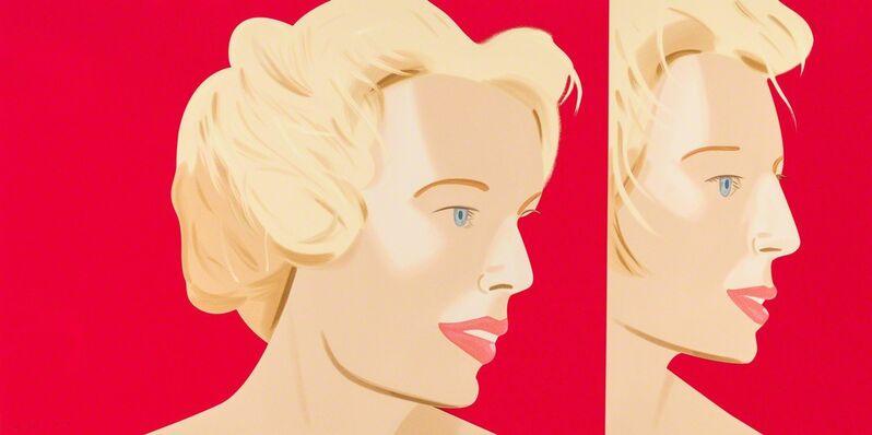 Alex Katz, 'COCA-COLA GIRL 6', 2019, Print, 22-color silkscreen, ARC Fine Art LLC