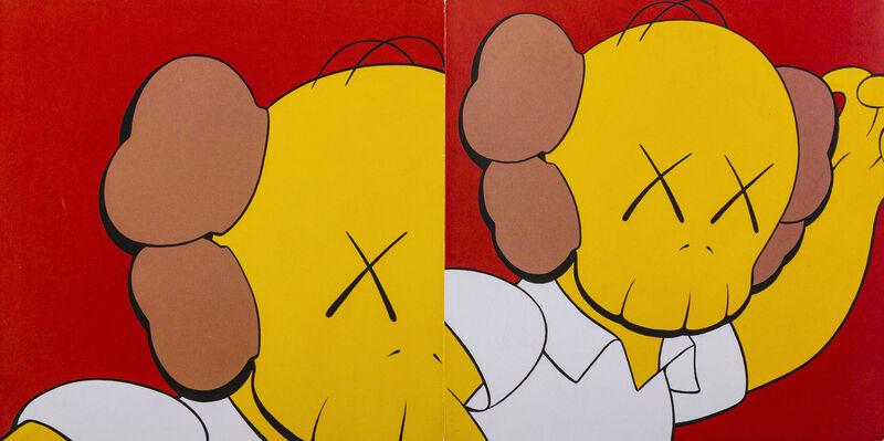 KAWS, 'SBI ART AUCTION «HARAJUKU AUCTION» CARD', 2019, Other, Invitation card of SBI Art Auction for the exhibition «Harajuku Auction» in Tokyo, DIGARD AUCTION