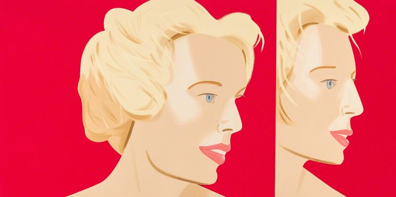 Alex Katz, 'Coca Cola Girl 6 (Portfolio of 9)', 2019, Print, Silkscreen, Frank Fluegel Gallery