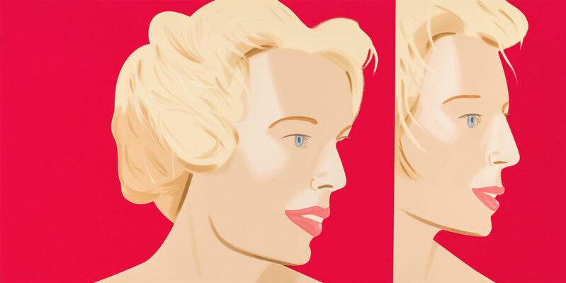 Alex Katz, 'Alex Katz, Coca-Cola Girl 6', 2019, Print, Silkscreen on fine art paper, Oliver Cole Gallery