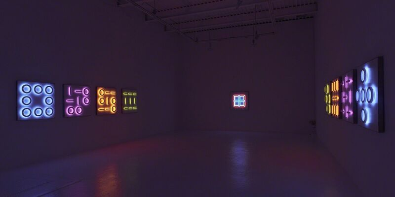 "Erwin Redl ""Reflections v2"", installation view"