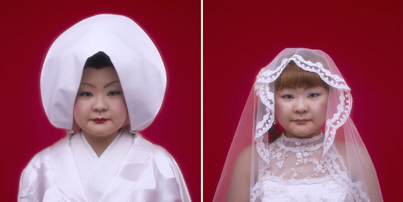 Tomoko Sawada, 'Bride (17 + 18)', 2007, Photography, Lambda prints, ROSEGALLERY