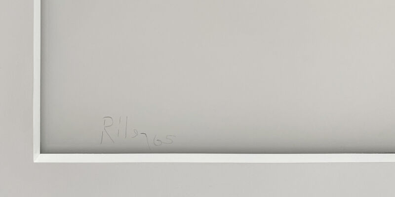 Bridget Riley, 'Untitled [Fragment 4]', 1965, Print, Screenprint on plexiglas, ARCHEUS/POST-MODERN