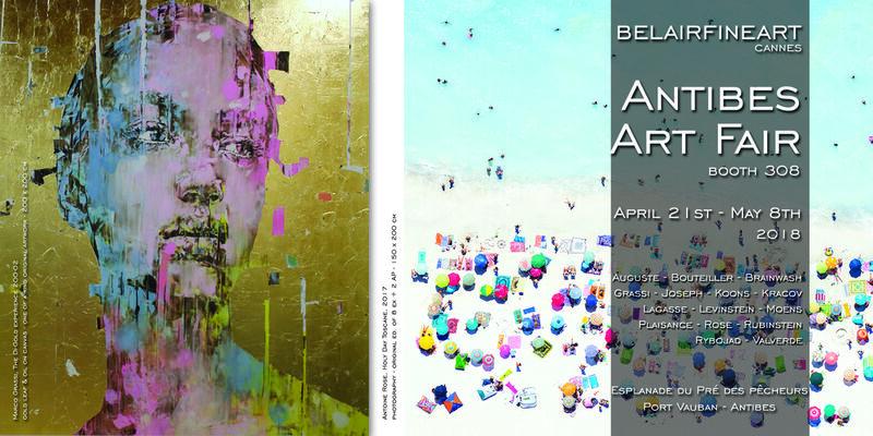 Bel-Air Fine Art at Antibes Art Fair 2018, installation view