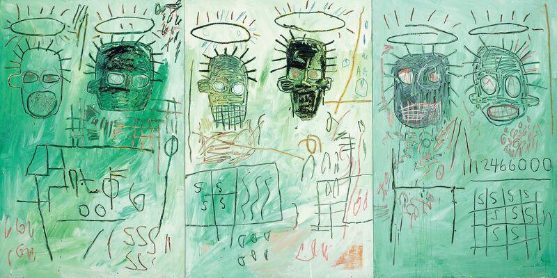 Jean-Michel Basquiat, 'Six Crimee', 1982, Painting, Acrylic and oil paintstick on masonite, MOCA