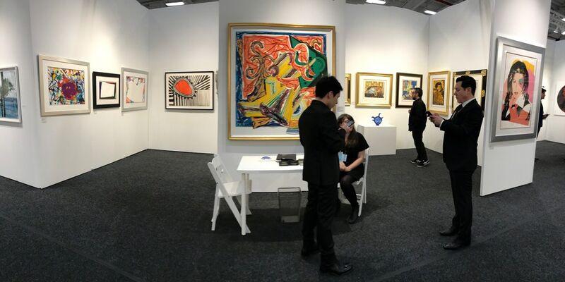 Masterworks Fine Art at Art on Paper New York 2017, installation view