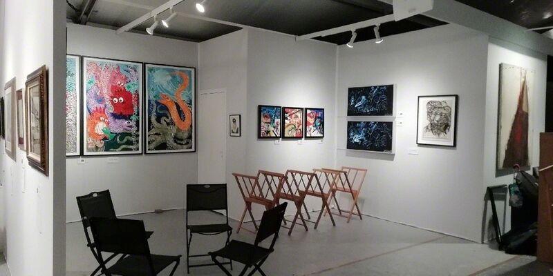 Art Elysées, installation view