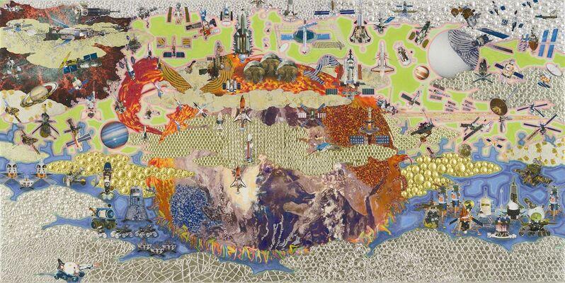 Masatake Kozaki, 'TOUGEN Space', 2014, Painting, Panels, hemp paper, mineral pigment, Art Front Gallery