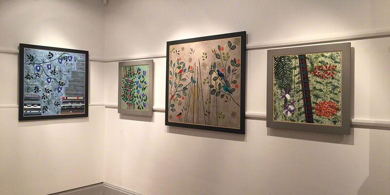 Judith Cain: 'Assam to Bhutan - The Space Between', installation view