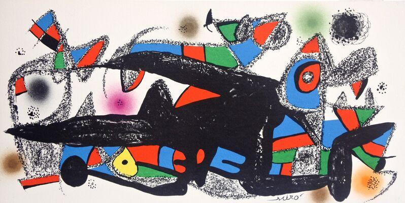 Joan Miró, 'Miró Escultor Denmark', 1974, Print, Lithograph, Hans den Hollander Prints