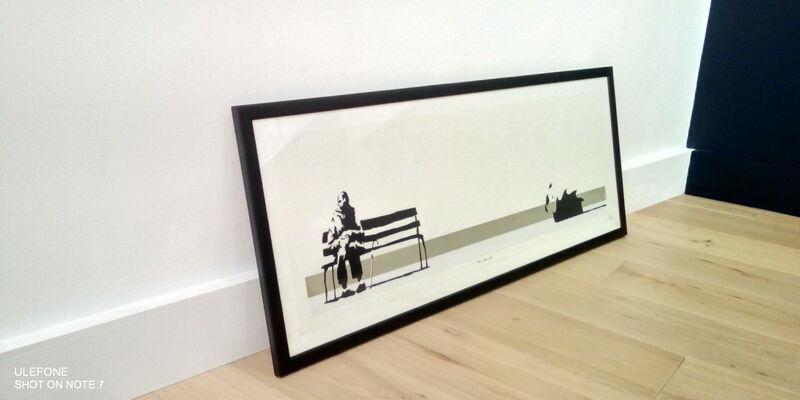 Banksy, 'Weston Super Mare', 2003, Print, Silkscreen, The Drang Gallery
