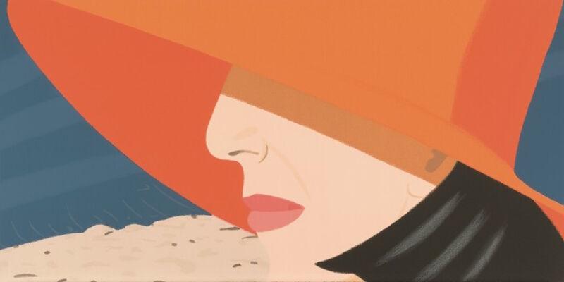 Alex Katz, 'Orange Hat (Alex and Ada, the 1960's to the 1980's Suite)', 1990, Print, Screenprint, Gregg Shienbaum Fine Art