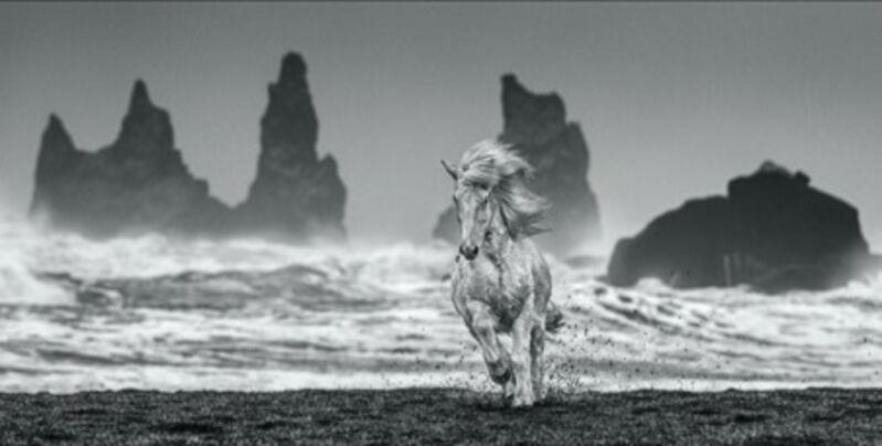 David Yarrow, 'White Horses', 2018, Photography, Archival Pigment Print, Maddox Gallery