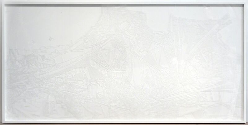 Marco Maggi, 'Plexi Line', 2013, Sculpture, X-acto knife cuts on polycast Plexiglas, Hosfelt Gallery