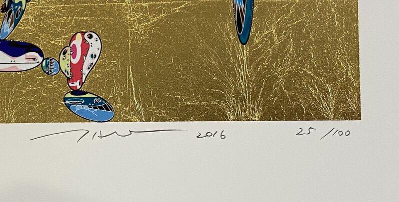Takashi Murakami, 'Tan Tan Bo', 2016, Print, Screenprint with gold leaf, Georgetown Frame Shoppe