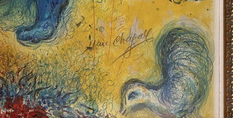 Marc Chagall, 'La Flûte Enchantée (The Magic Flute)', 1967, Print, Color Lithograph on Arches Paper, Bananamous