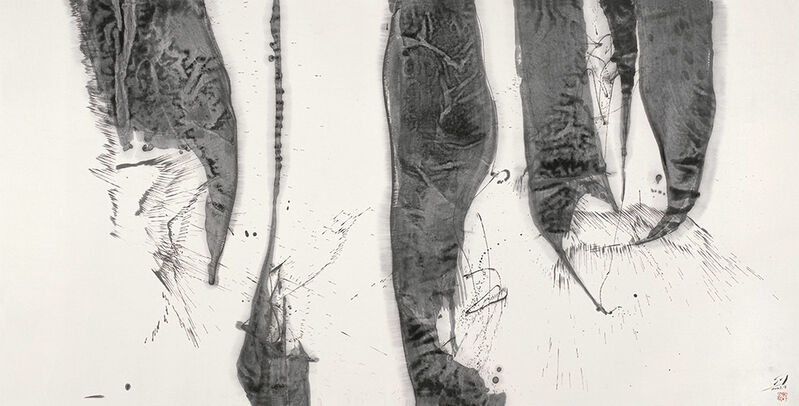 Shao Yan, 'Dazzling Fireworks and Lanterns 火樹銀花', 2007, Painting, Chinese ink on paper, Alisan Fine Arts