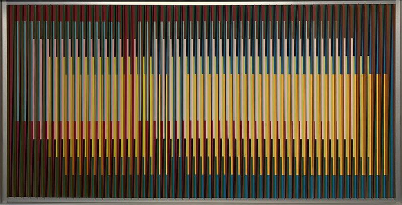 Carlos Cruz-Diez, 'Physichromie 1579, 3/3', 2009, Painting, Pigment chromography on aluminum, Galerie Denise René