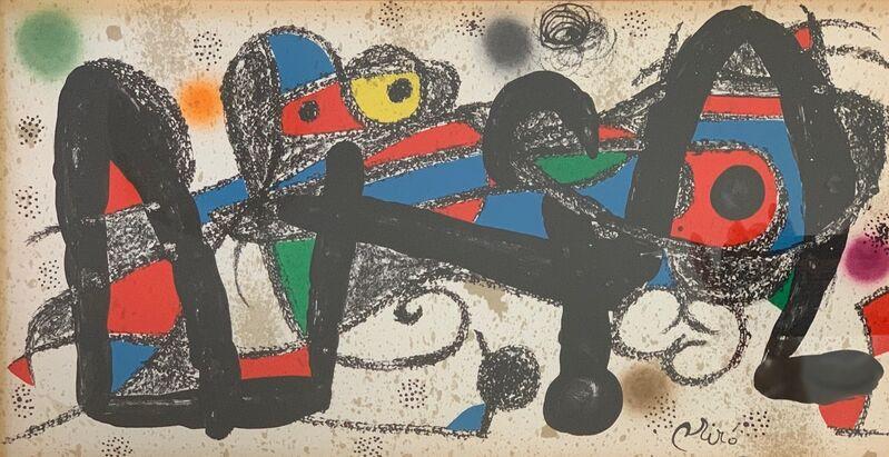 Joan Miró, 'Portugal (Escultor Suite)', 1974, Print, Lithograph, Leviton Fine Art