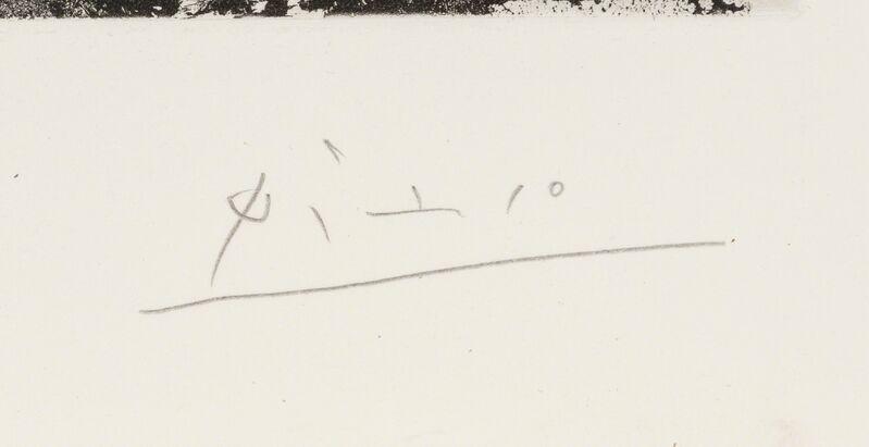 Pablo Picasso, 'En pensant à Goya: Femmes en prison, from Séries 347', 1968, Print, Aquatint on BFK Rives paper, Heritage Auctions