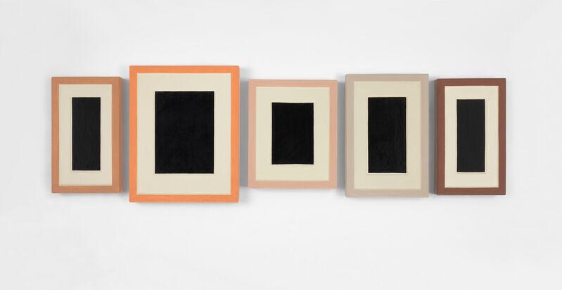 Allan McCollum, 'Collection of Five Plaster Surrogates', 1982/1992, Sculpture, Enamel on cast Hydrostone, Galerie Thomas Schulte