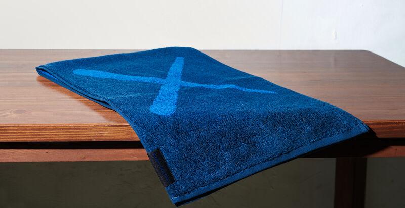 KAWS, 'Holiday Towel (Navy)', 2018, Textile Arts, Towel, Artree