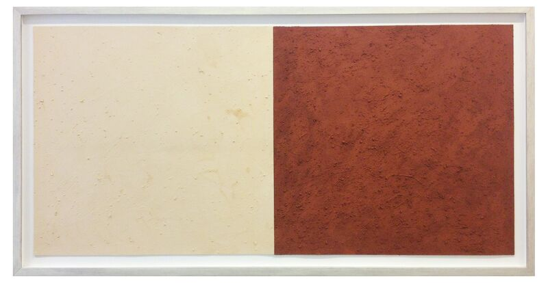 Karel Nel, 'Potent Fields', 2002, Painting, Red and white ochre, British Museum