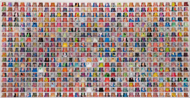 Omar Hassan, 'Cap 589', 2015, Mixed Media, Mixed media, Rosenbaum Contemporary