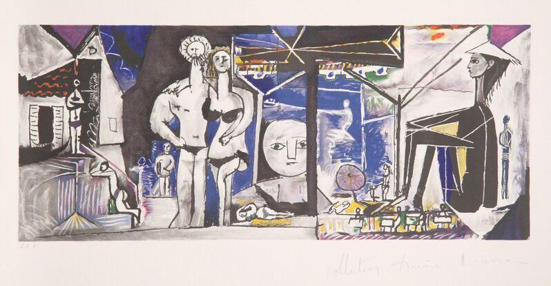 Pablo Picasso, 'Jeux de Plage, 8-B', 1979-1982, Print, Lithograph on Arches, RoGallery