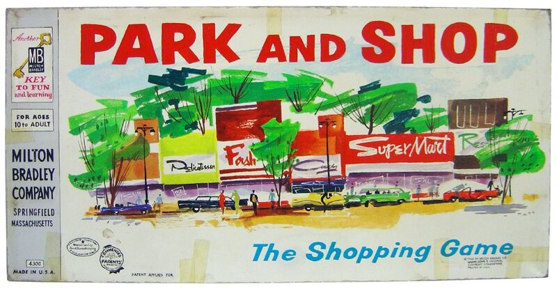 Tim Liddy, 'circa 1960 Park and Shop', 2009, Mixed Media, Oil & enamel on copper, Clark Gallery