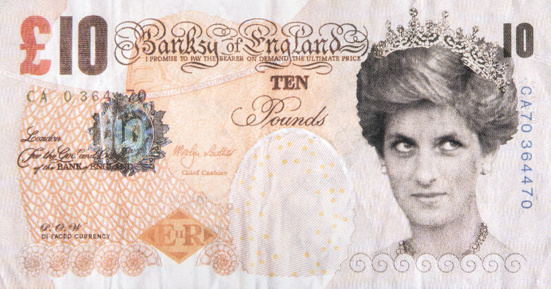 Banksy, 'Di-Faced Tenner', 2004, Print, Offset lithograph in colours on paper, Tate Ward Auctions
