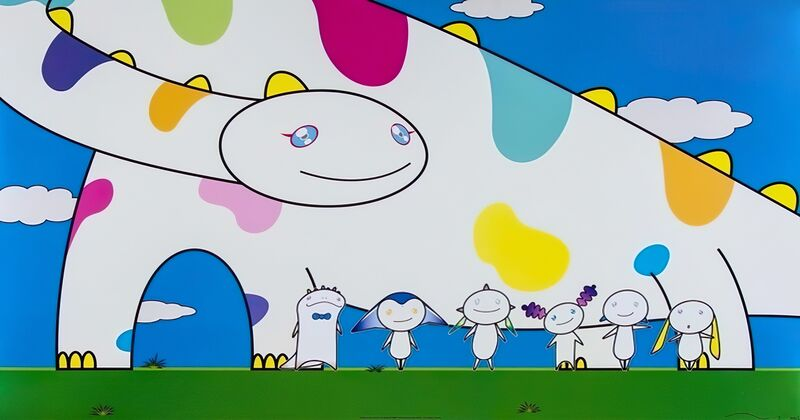 Takashi Murakami, 'Yoshiko and the creatures came from planet 66', 2007, Print, Offset print, Pinto Gallery