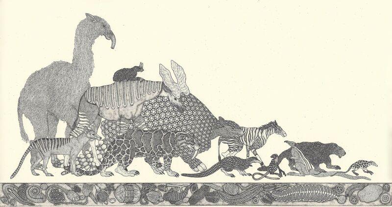 Etsuko Fukaya, 'untitled (40)', 2014, Print, Etching, Yamamoto Gendai
