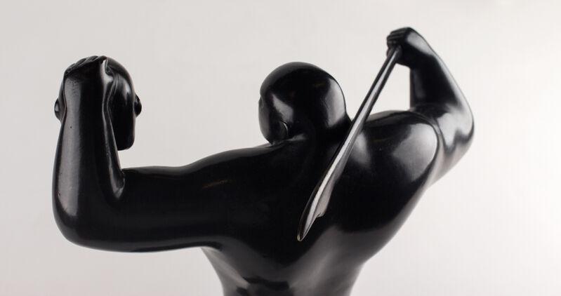 Cleon Peterson, 'THE LIGHT BEARER'', 2017, Sculpture, Bronze, Black patina, artempus