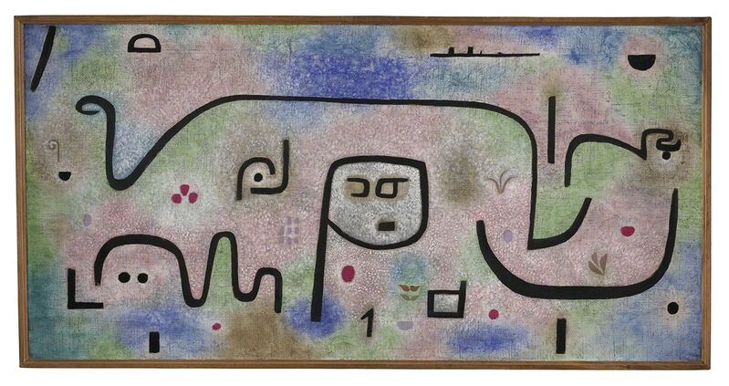 Paul Klee, 'Insula Dulcamara', 1938, Painting, Oil and colour glue paint on paper on hessian canvas, Centre Pompidou