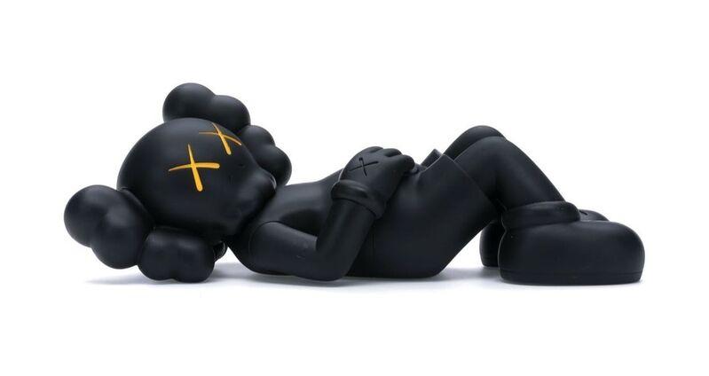 KAWS, 'HOLIDAY JAPAN Vinyl Figure Black', 2019, Sculpture, Painted Vinyl, ArtLife Gallery