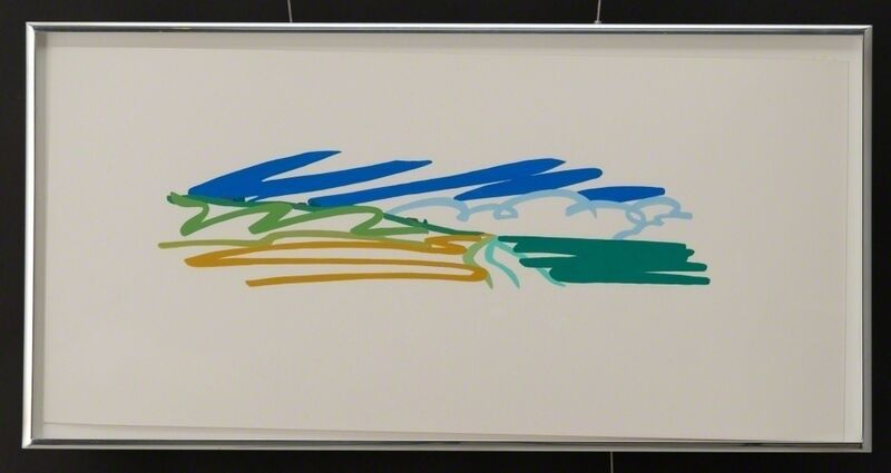 Tom Wesselmann, 'Study for Seascape with Cumulus Clouds', 1991, Drawing, Collage or other Work on Paper, Pencil and Liquitex on Bristol Board, Vertu Fine Art