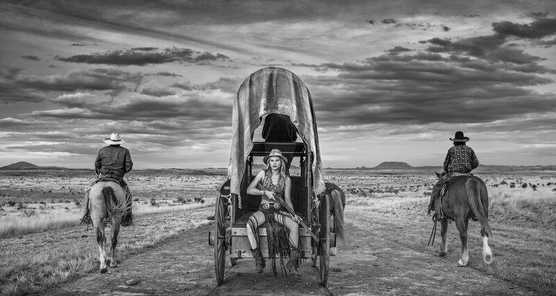 David Yarrow, 'Amarillo by Morning', 2020, Photography, Digital Pigment Print on Archival 315gsm Hahnemuhle Photo Rag Baryta Paper, Samuel Owen Gallery