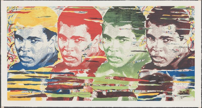 Mr. Brainwash, 'The Greatest', 2014, Print, Screenprint in colors on hand torn archival paper, Heritage Auctions