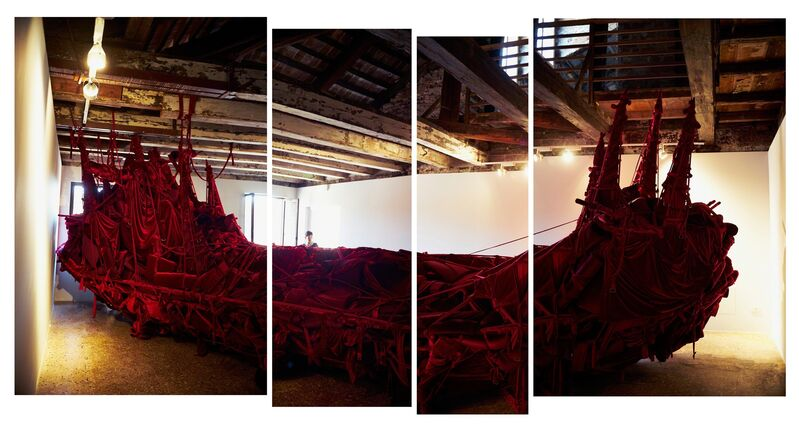 Jose Tence Ruiz, 'Shoal (Installation view)', 2015, Installation, 56th Venice Biennale