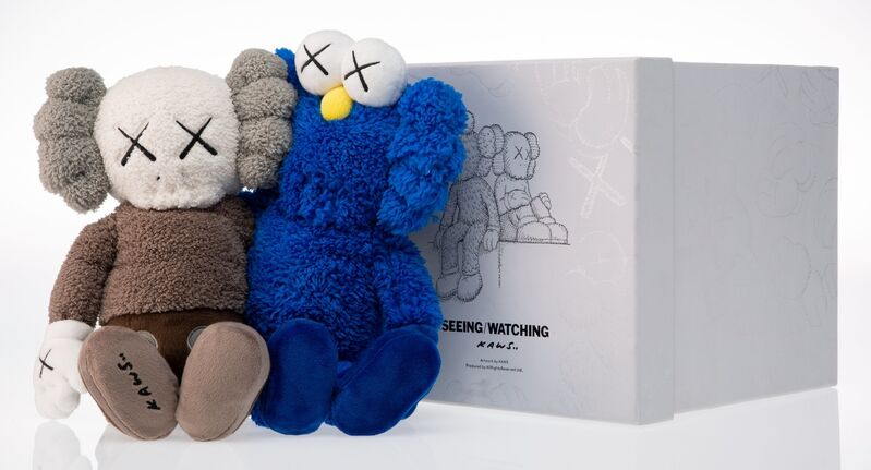 KAWS, 'Seeing/Watching', 2018, Other, Plush toy, Heritage Auctions