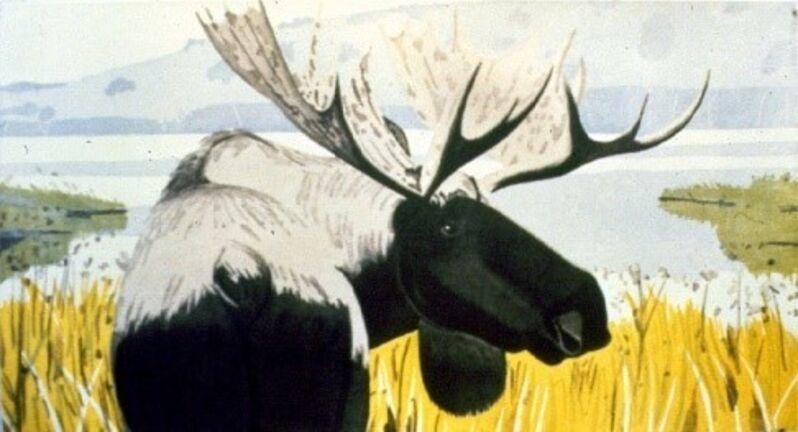 Alex Katz, 'The Moose', 1983, Print, Color aquatint, Marlborough New York
