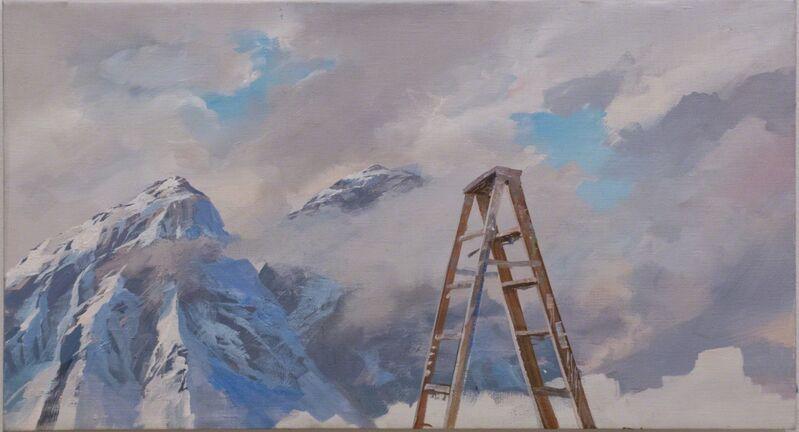 Adam Cvijanovic, 'Santi's Ladder', 2012, Painting, Oil on canvas, Postmasters Gallery