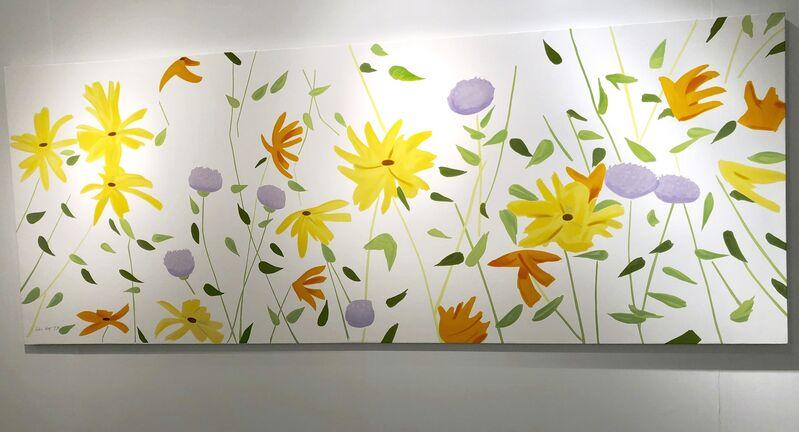 Alex Katz, 'Summer Flowers Canvas', 2018, Print, Silkscreen on canvas., Frank Fluegel Gallery