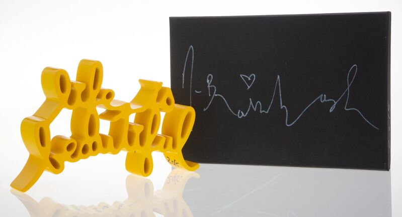 Mr. Brainwash, 'Life is Beautiful (Yellow)', 2015, Sculpture, Painted cast resin, Heritage Auctions