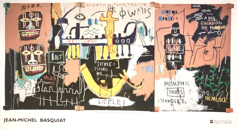 Jean-Michel Basquiat, 'El Gran Espectaculo', 2002, Print, Poster, HR Docks Gallery