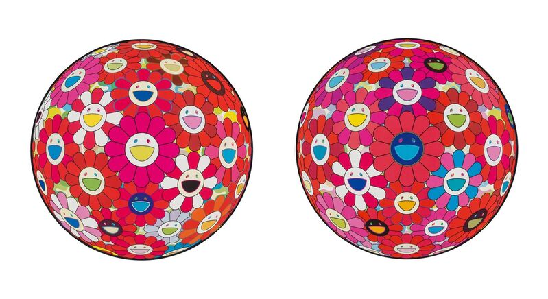 Takashi Murakami, 'Comprehending the 51st Dimension and Hey! Do You Feel What I Feel? (two works)', 2014, Print, Offset lithographs in colors, Heritage Auctions