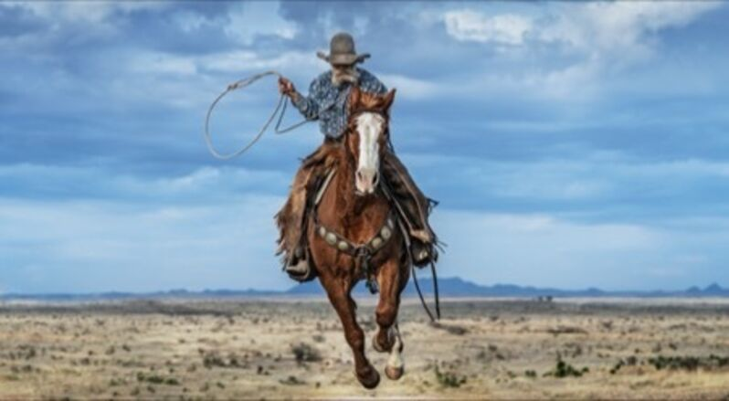 David Yarrow, 'True Grit - Colour', 2020, Photography, Archival Pigment Print, Maddox Gallery
