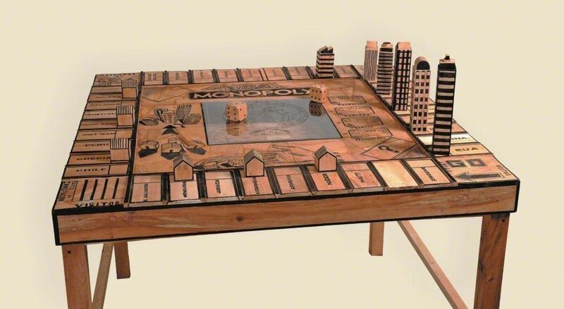 Abel Barroso, 'Visa Monopoly', 2012, Sculpture, Wood, xilography and ink, Michel Soskine Inc.